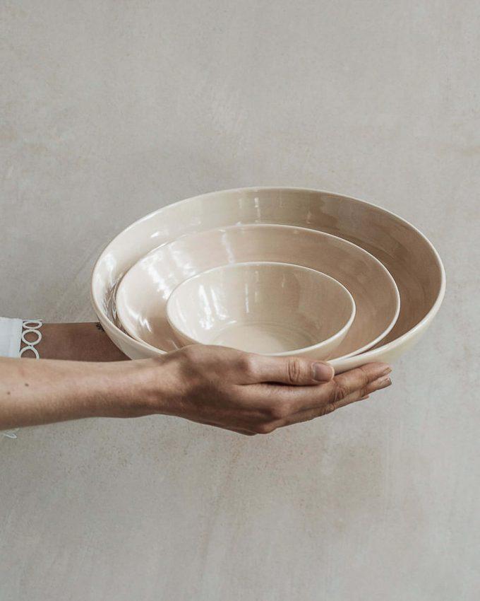 serving bowl set via etsy wedding registry