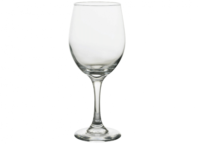 wine glasses in bulk