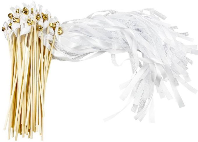 wedding ribbon wands