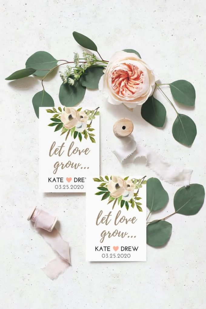 seed favors for weddings
