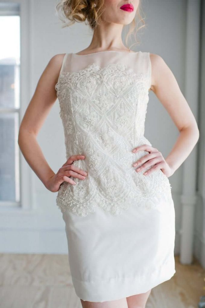 courthouse wedding dress