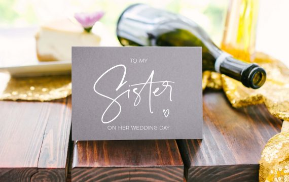 wedding gift for sister getting married