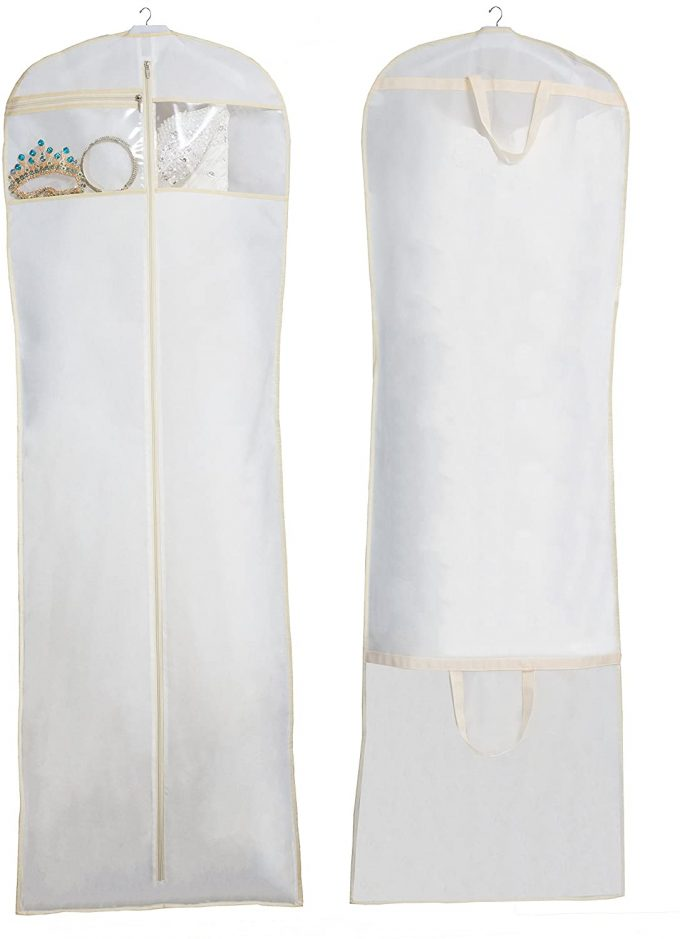 best wedding dress garment bag