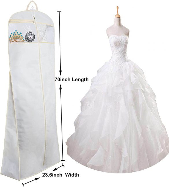 best wedding dress garment bag
