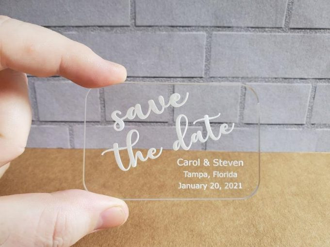 clear save the dates