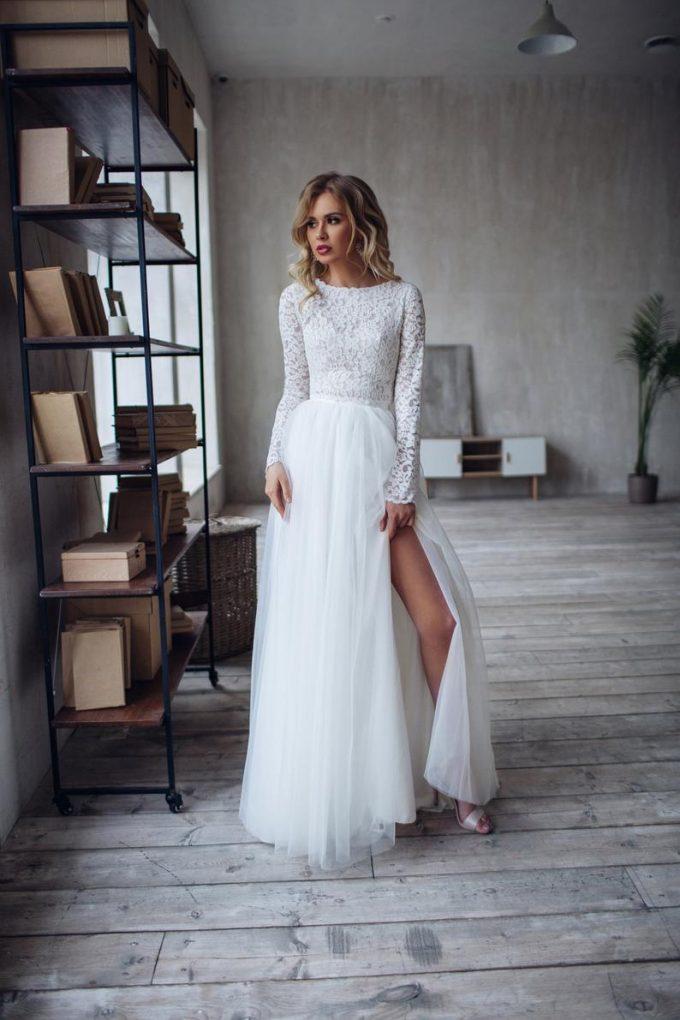 crop top bridal separates