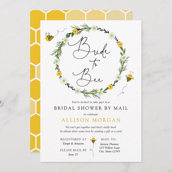 virtual bridal shower
