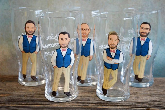 personalized groomsmen glasses