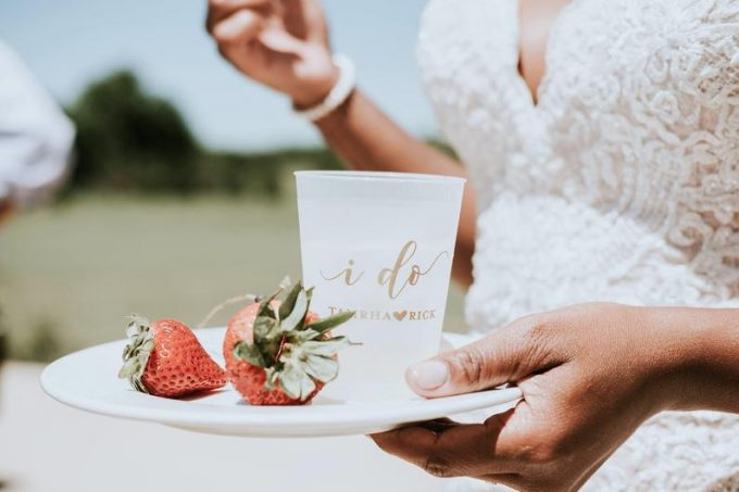 wedding plastic cups bulk