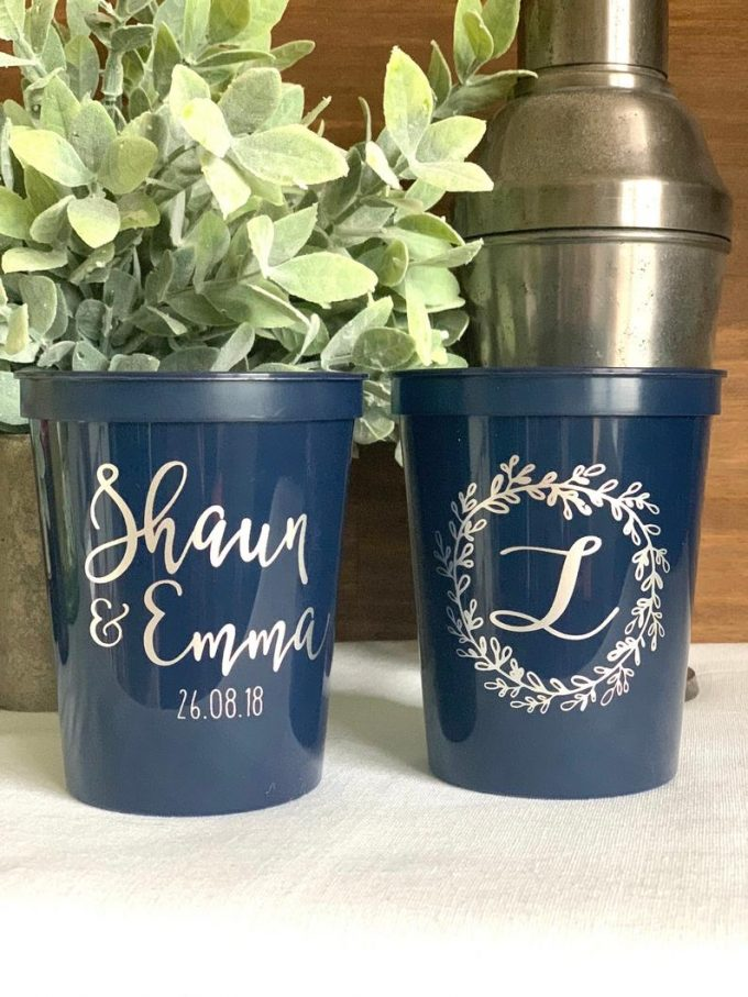 plastic cups for wedding in bulk