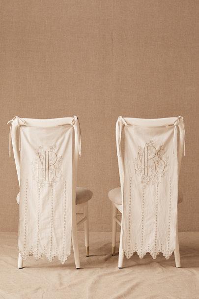 wedding chair banners