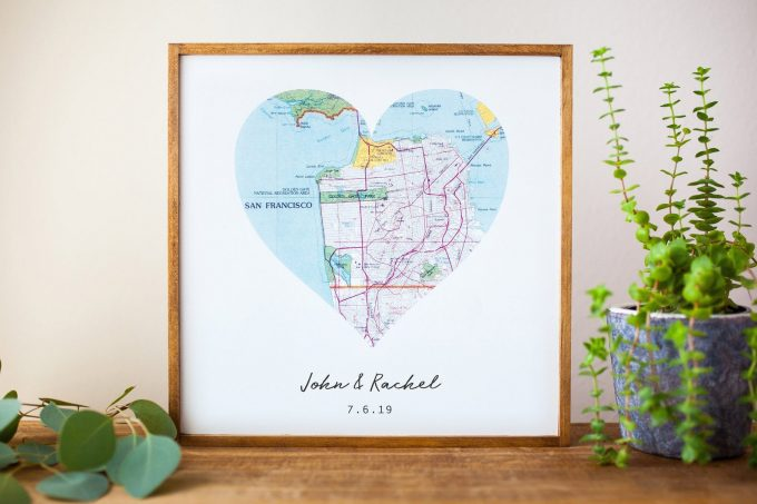 travel themed gifts for couples