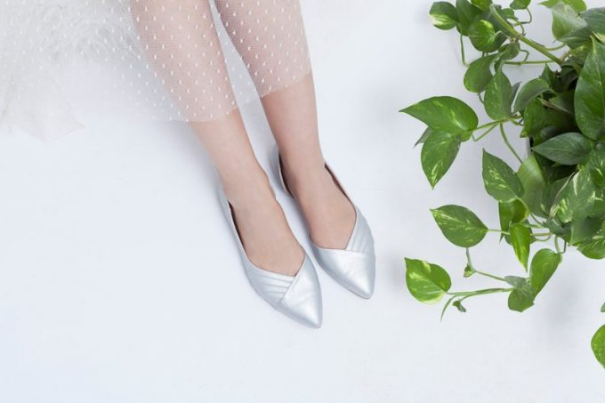 wedding flats for bride