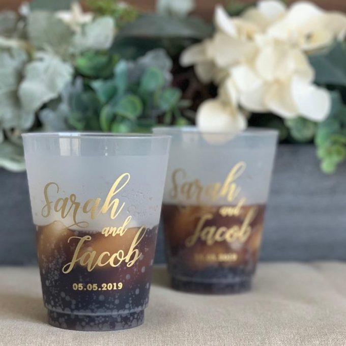 wedding plastic cups in bulk