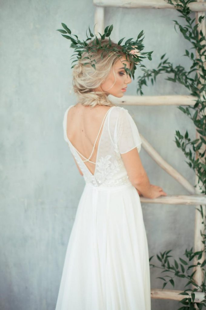 something new wedding dress