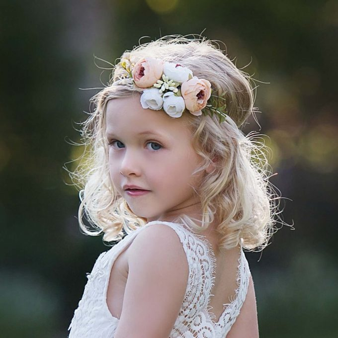 where to buy flower girl headpieces