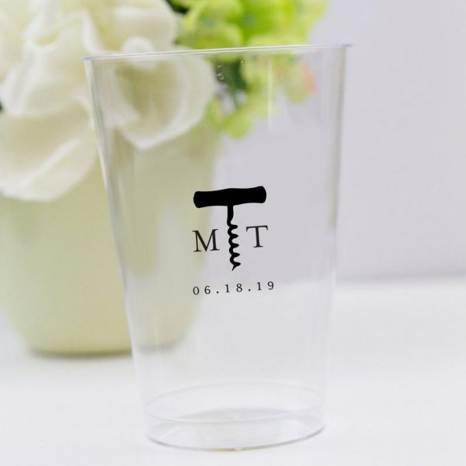 plastic wedding cups in bulk