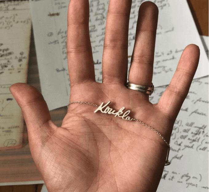 handwriting gifts