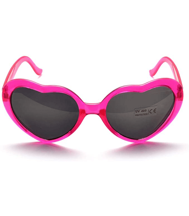 heart shaped sunglasses bachelorette