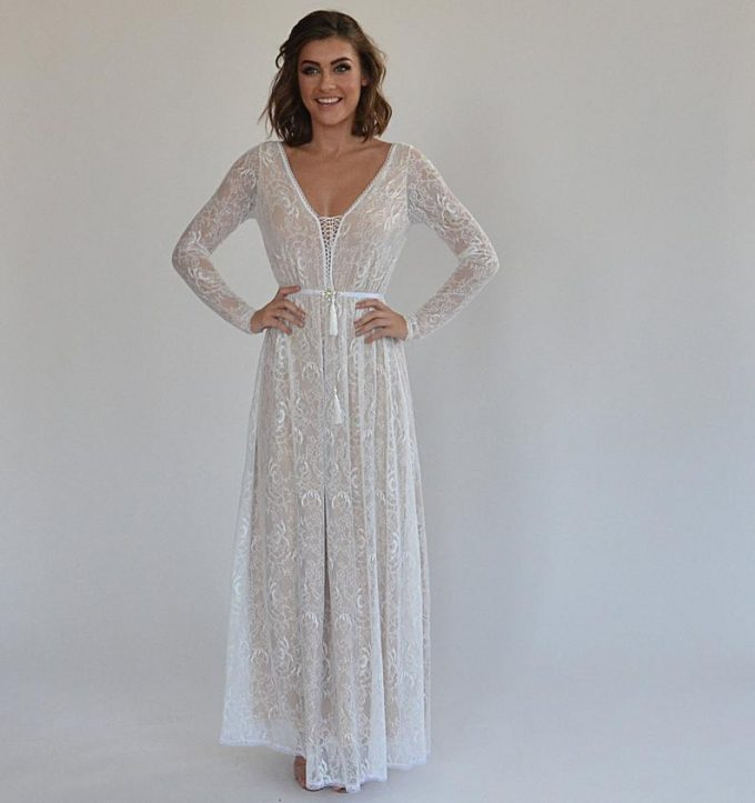 wedding dresses that go with cowboy boots