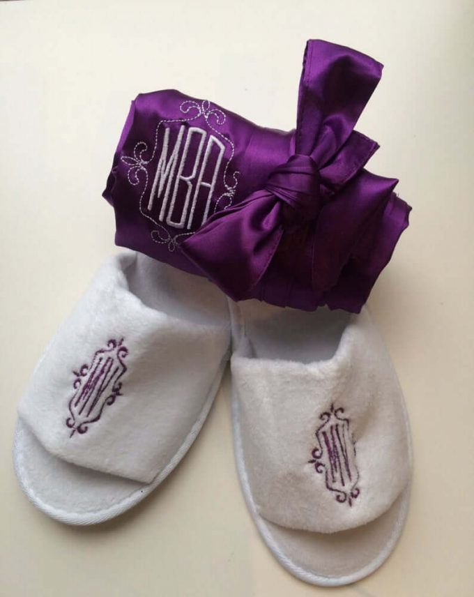 where to buy bridesmaid slippers