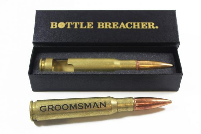 vintage 50 caliber bullet bottle openers