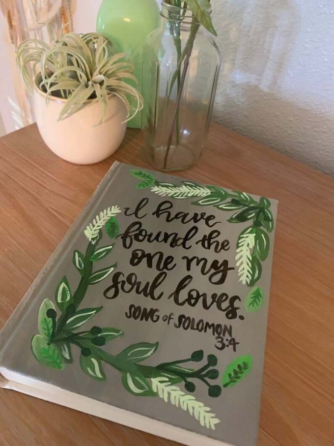 Bible guest book for wedding