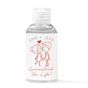 wedding hand sanitizer favors