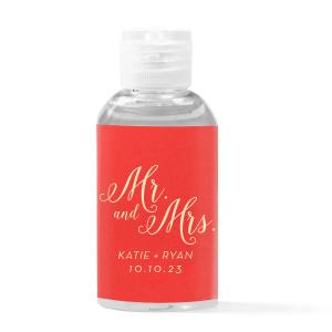 hand sanitizer favors for weddings