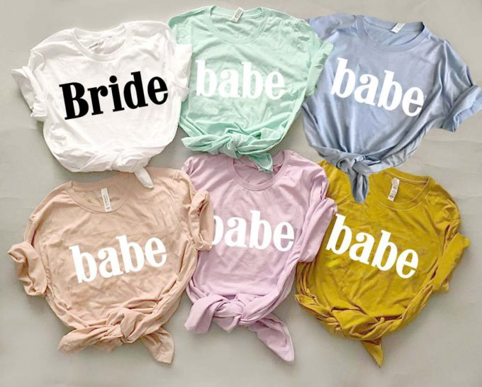 babe shirt for bridesmaids