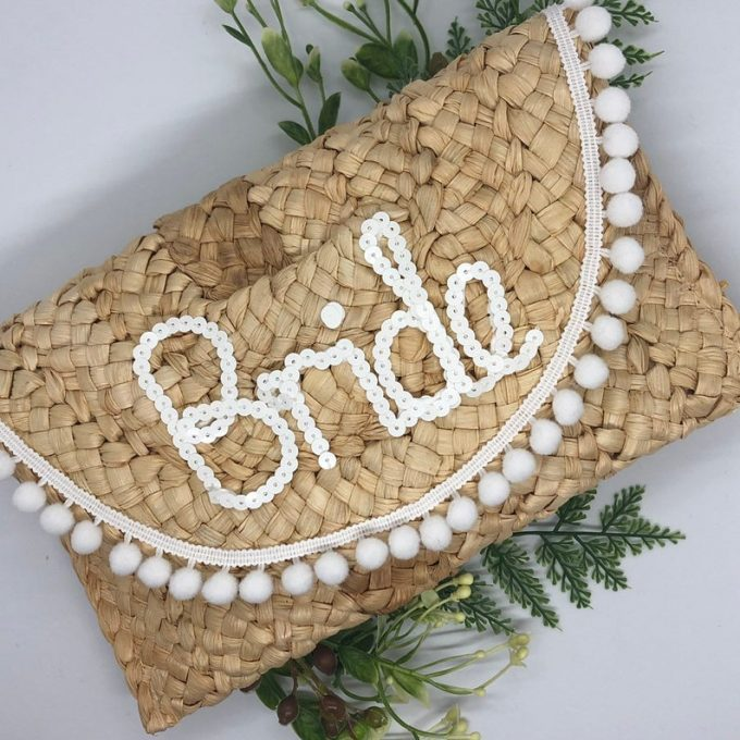 straw bags for brides