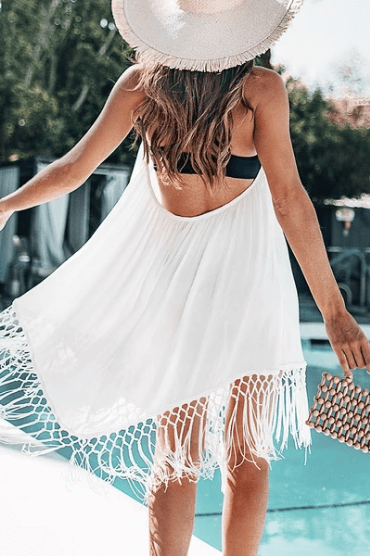bridal party swim cover ups