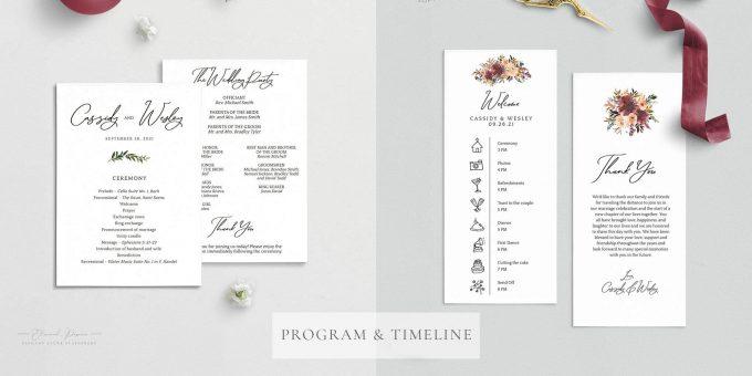 fall invitation template
