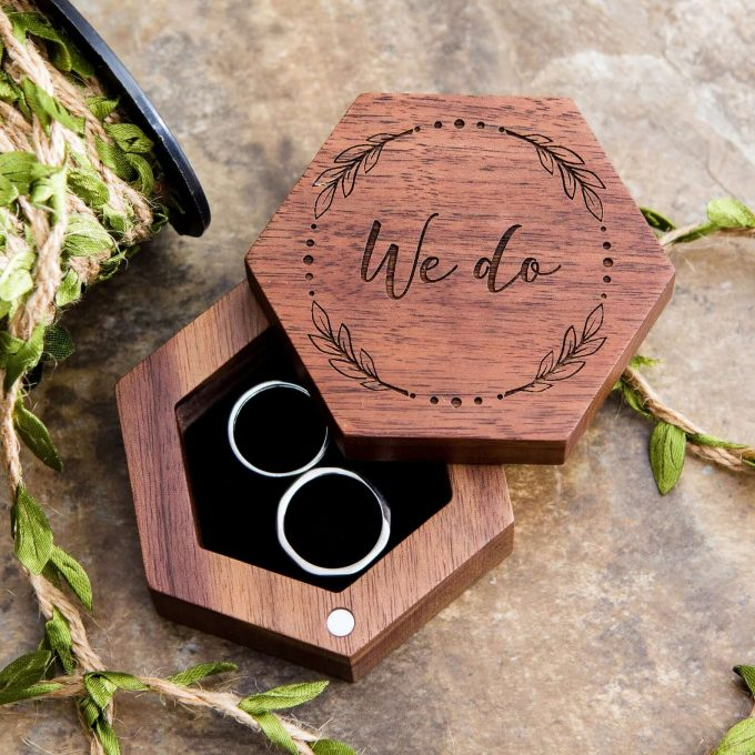 wedding ring boxes etsy