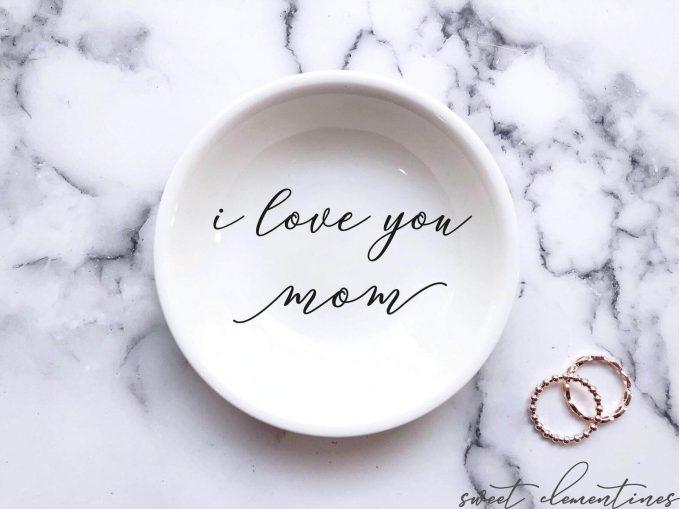 mom ring dish