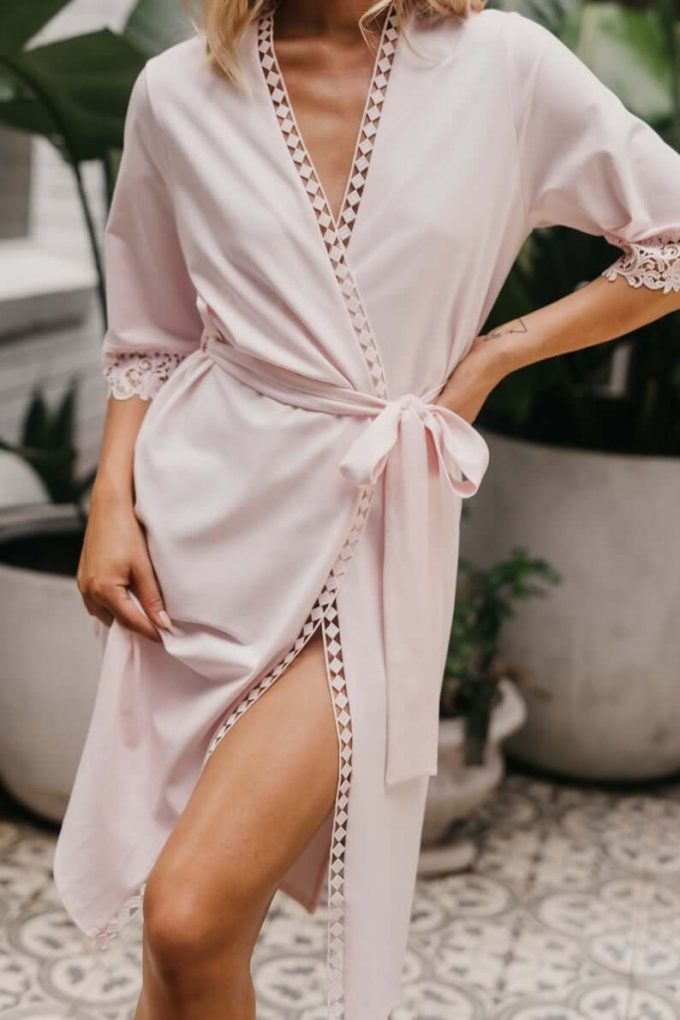 long robes for bridesmaids