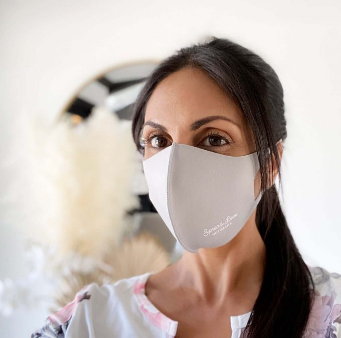 face masks for wedding guests