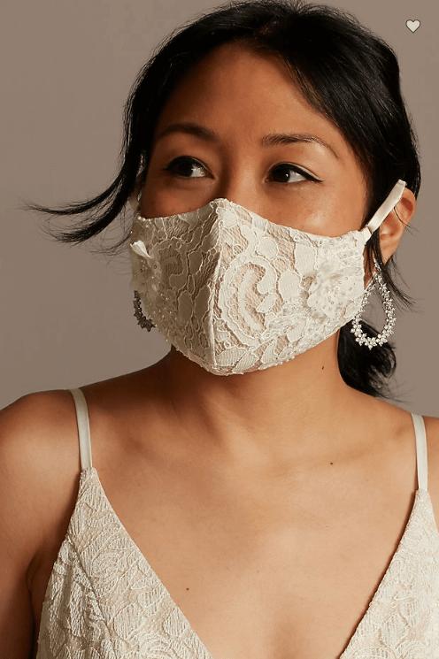 bride face mask