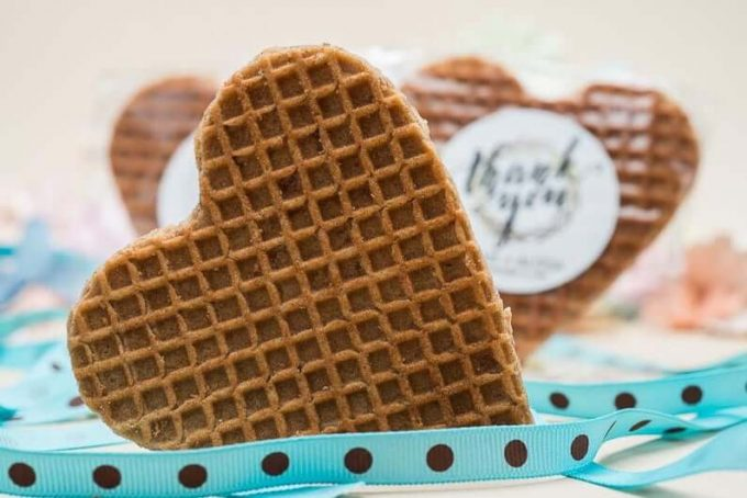 stroopwafel favors for weddings