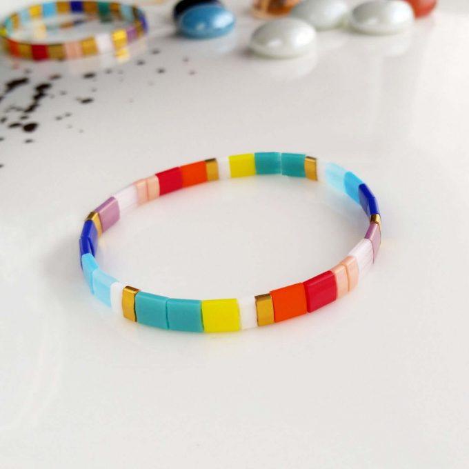 stackable tile bracelets