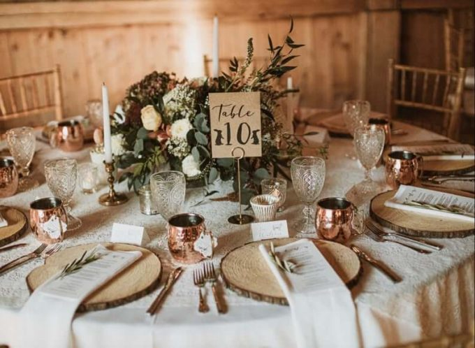 rustic wedding decorations on a budget