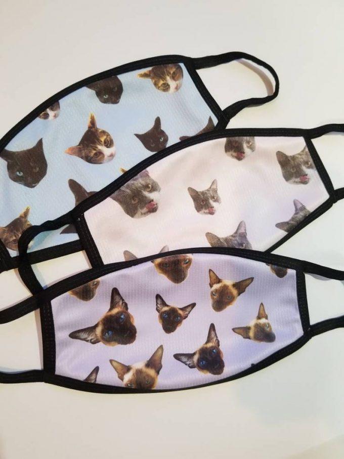 custom pet face mask
