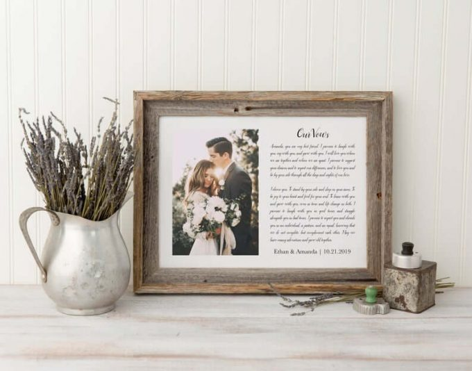 wedding vow gift