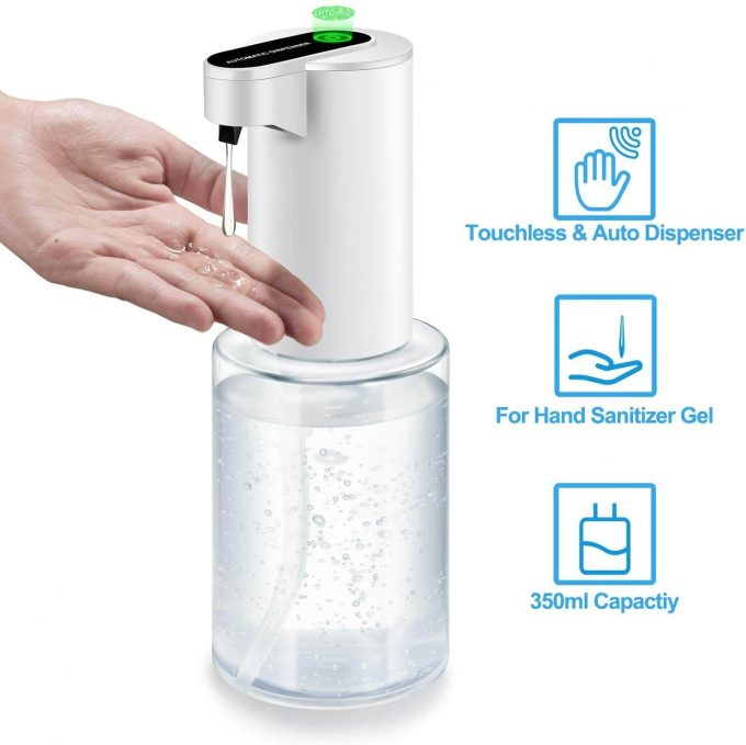 touchless antibacterial hand pump