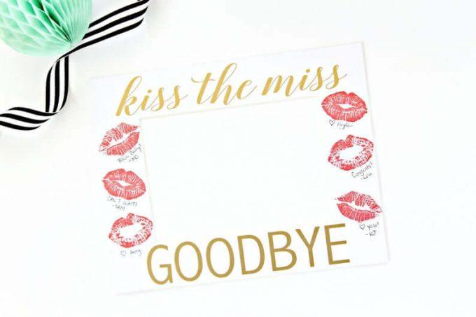kiss the miss goodbye print