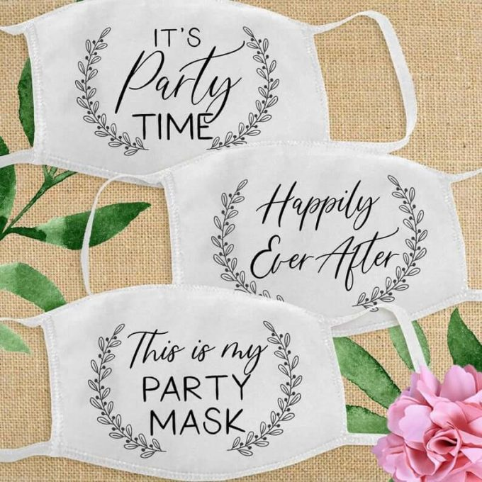 Where to Get Face Mask Favors for Weddings