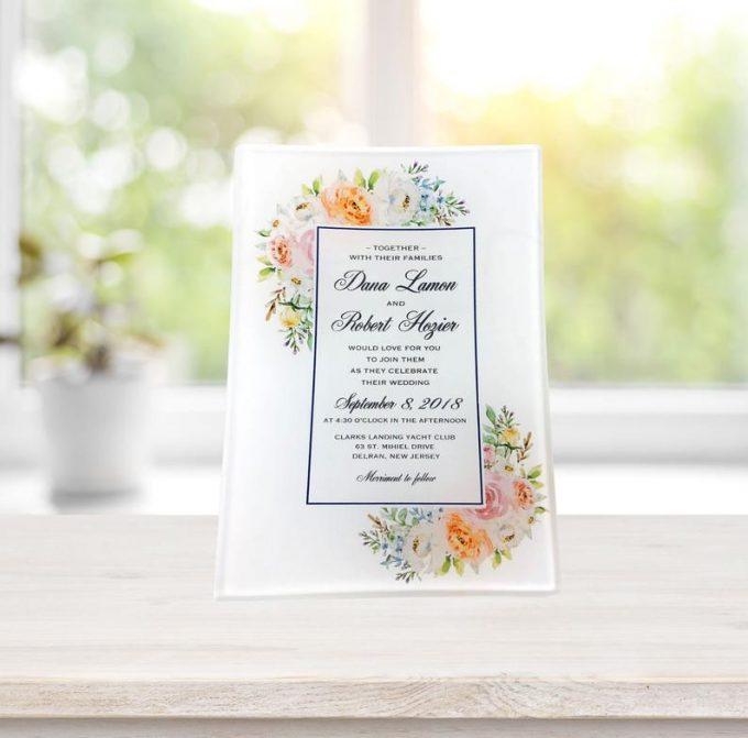 wedding invitation keepsake