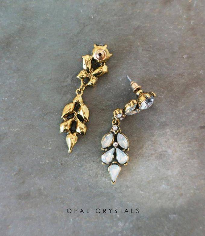 vintage style bridesmaid earrings
