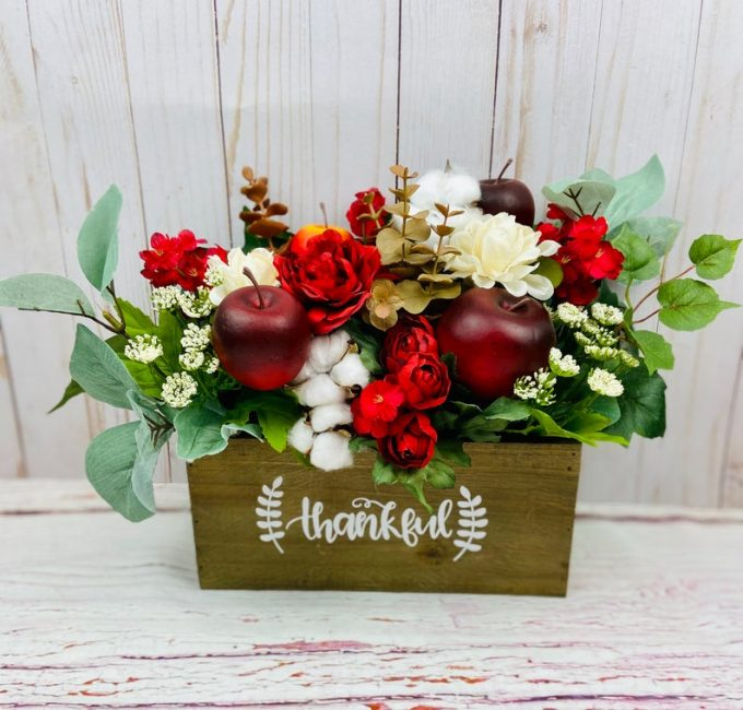 apple themed wedding
