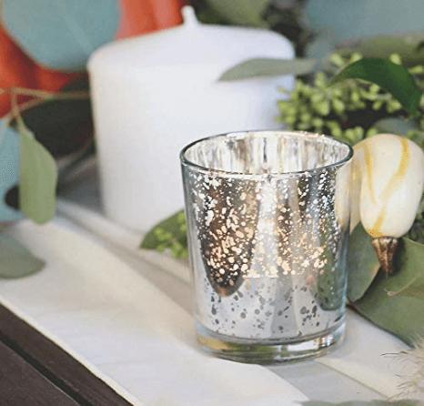 mercury glass candle holders in bulk